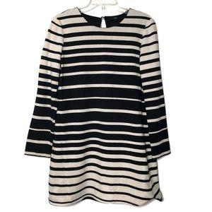 Tibi striped black white mini dress / tunic L